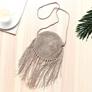 Cross body Handmade Woven Handbag Bohemian