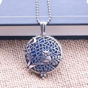 Aroma Diffuser Antique Vintage Locket Necklace
