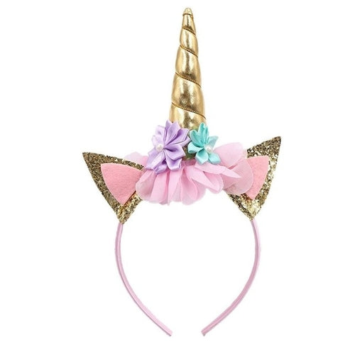 Best Sale Girl Party Headband, Hairband Unicorn Decorative