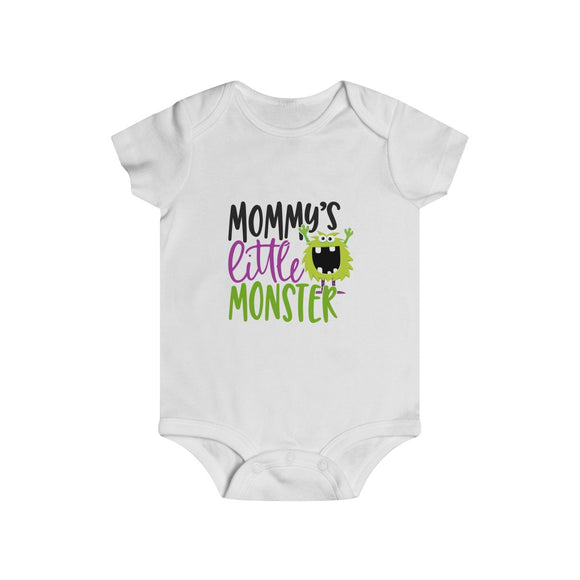 Monster Prints Infant Rip Snap Tee (6m-24m) (Design by TopKidz)