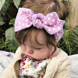 Polka Dot Hairband Baby Toddler