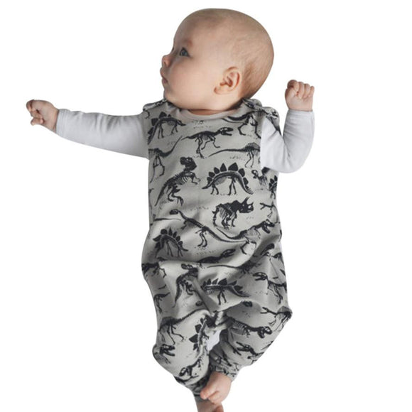 New Dinosaur pattern baby boys romper jumpsuit