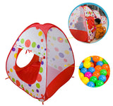 Foldable Round Tunnel Tent Three - Piece Set Ocean Ball Pool Indoor/Outdoor Play