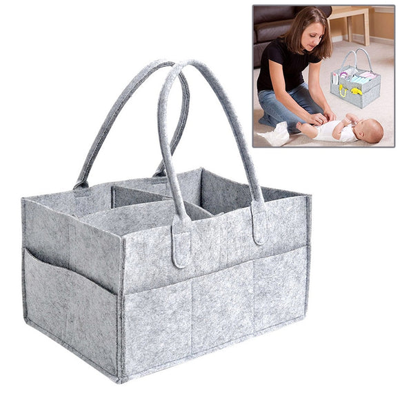 Baby Diapers Nappy Changing Bag, Bottle Storage Multifunctional Maternity Handbags Organizer