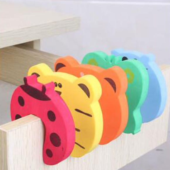 5Pcs/Lot Protection Baby Safety Door Stopper Card Lock Newborn Care Child Finger Protector