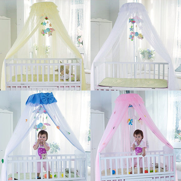 Baby Crib Mosquito Net For Infants Portable Newborn Cot Folding Canopy Boys Girls