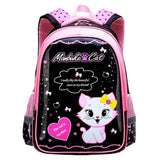 Sweet Cat Girl's School Bags Cartoon Pattern Kid Backpack Children School Backpack