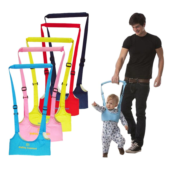 Baby Walker, Baby Harness Assistant Toddler Leash for Kids Learning Walking Safety