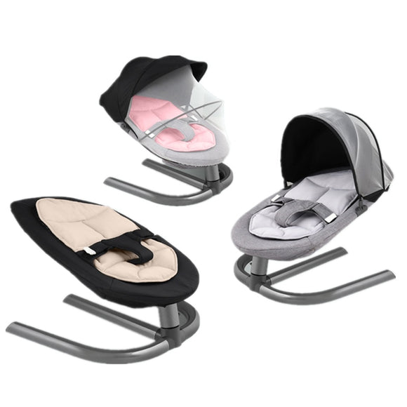 Baby Rocking Chair Kids Infant Swing Aluminum Alloy Baby Cradles Rocker