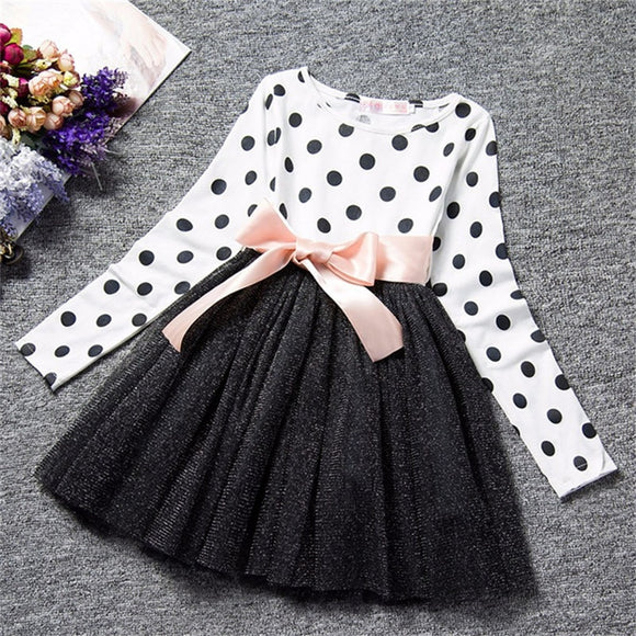 Little Baby Girl Party Dress Kids Clothes Junior Children's Clothing Girl