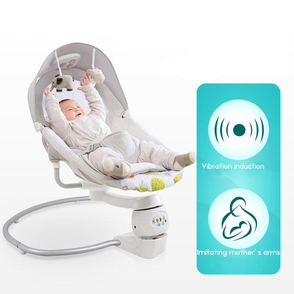 Baby Rocking Chair Electric Cradle Newborn Cradle