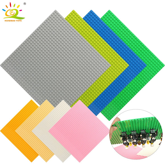 8 Color 32*32 Dots Base Plate for Small Bricks Baseplate Board Compatible Legoing figures