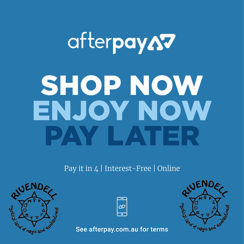 Huge new range online, and we're now accepting AfterPay!