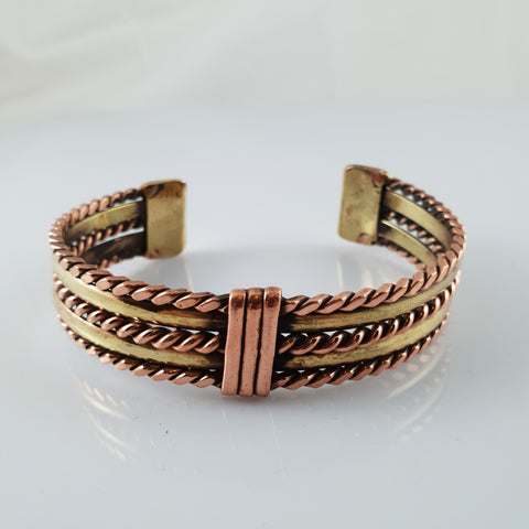 Handmade in NZ, Designer Copper Bracelet