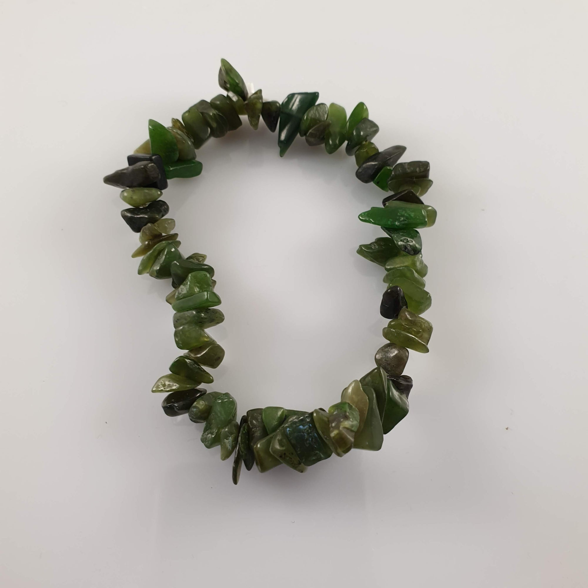 Jade Chip Crystal Bracelet - Rivendell Shop NZ