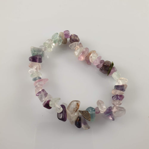 Fluorite Crystal Bracelet - Rivendell Shop NZ