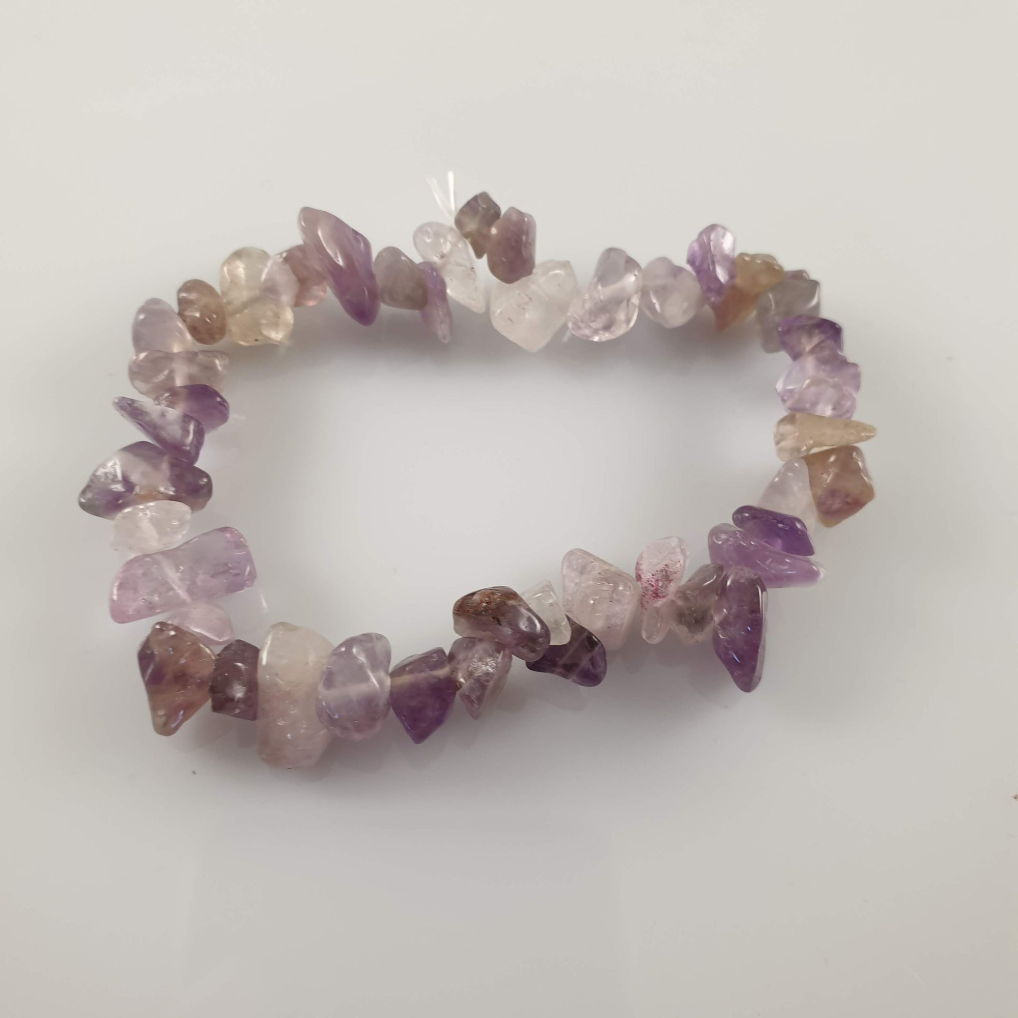 Bright Amethyst Chip Crystal Bracelet - Rivendell Shop