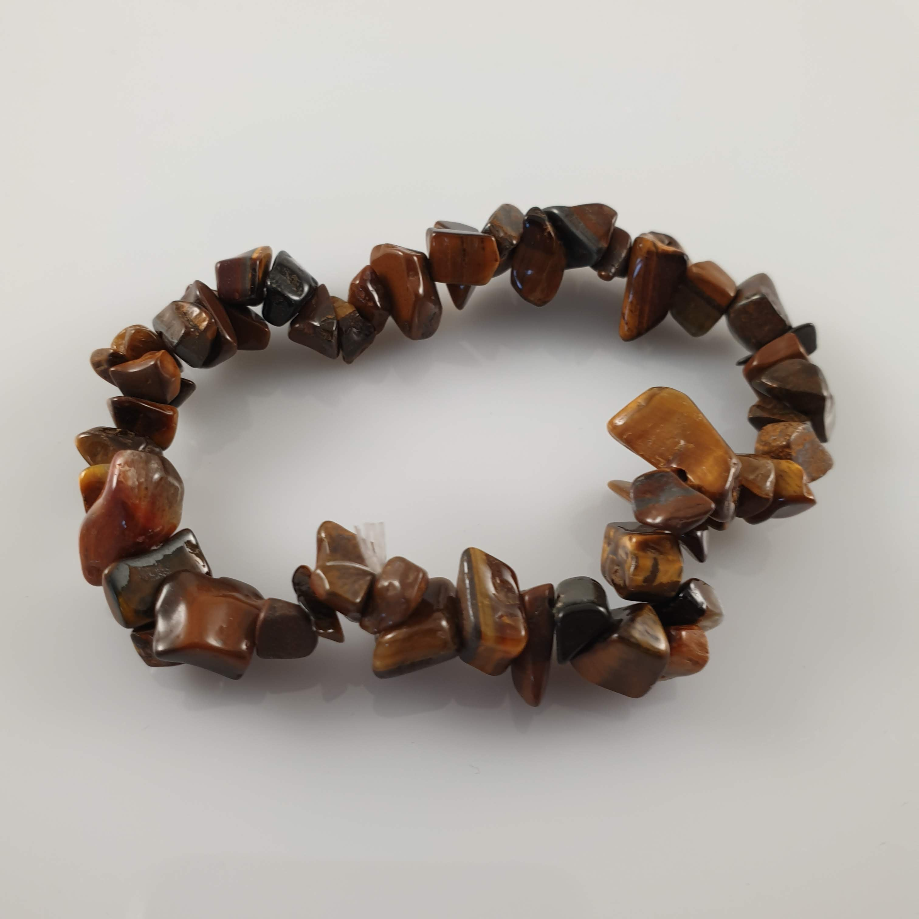Tiger's Eye Chip Crystal Bracelet - Rivendell Shop NZ