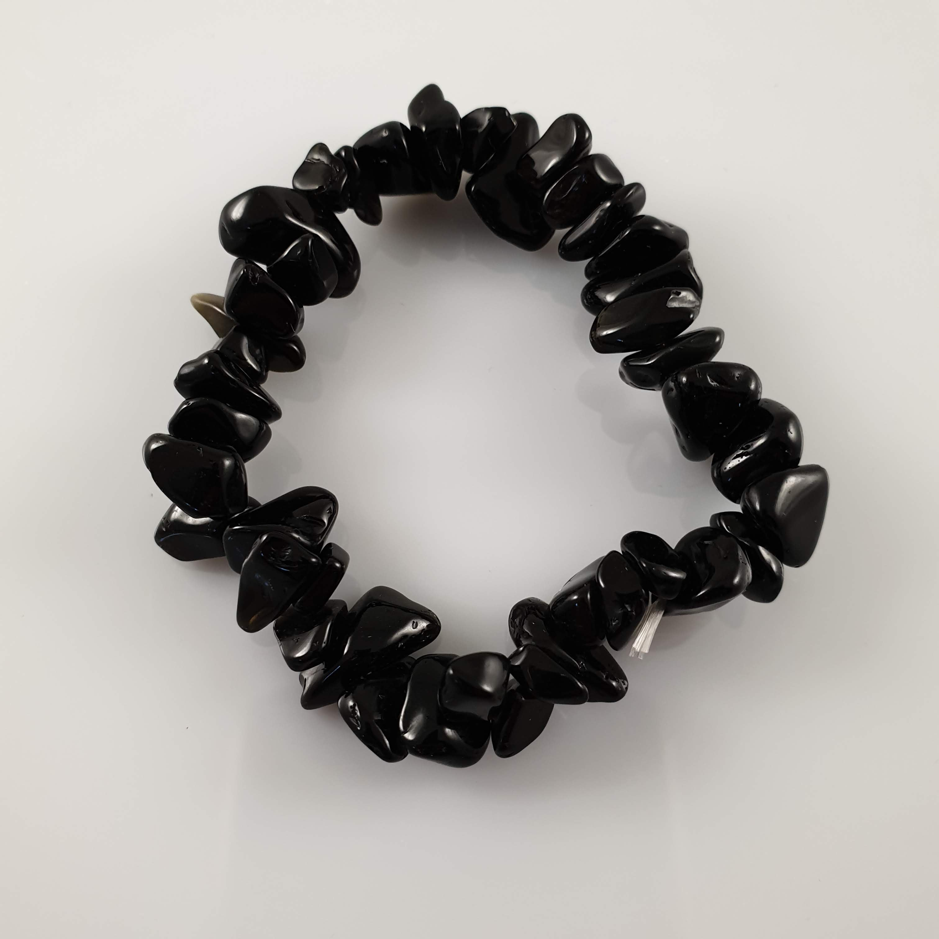 Black Obsidian Crystal Bracelet - Rivendell Shop NZ