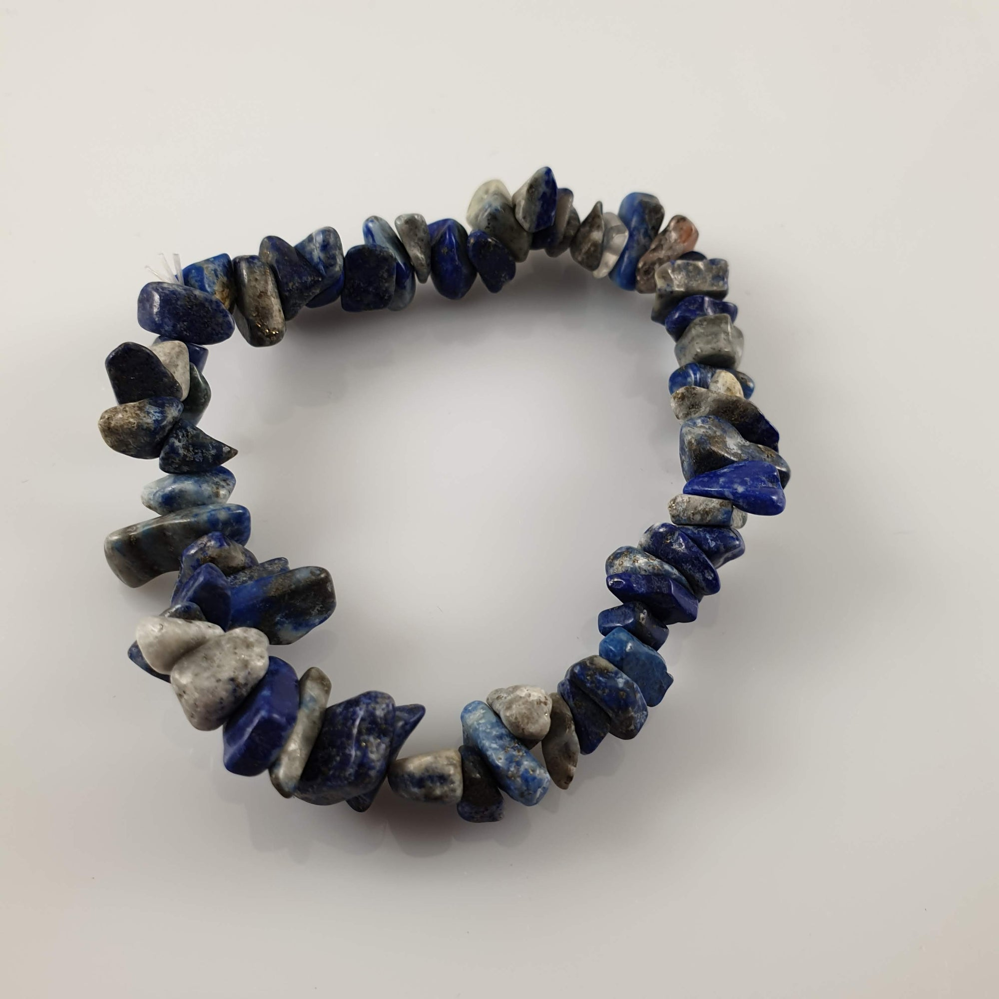 Lapis Lazuli Chip Crystal Bracelet - Rivendell Shop NZ