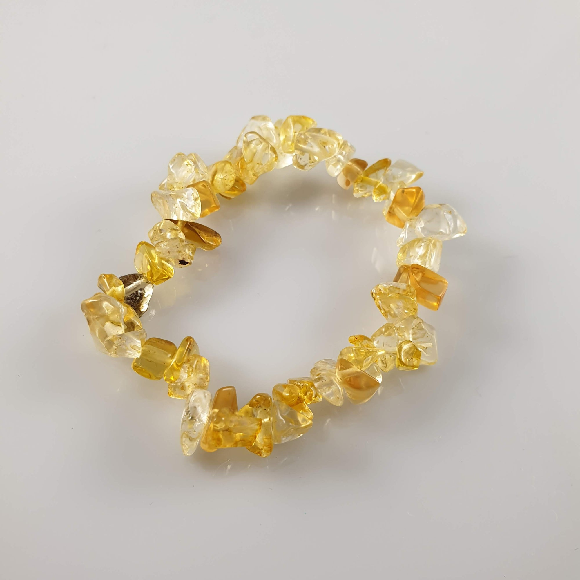 Citrine Chip Crystal Bracelet - Rivendell Shop NZ