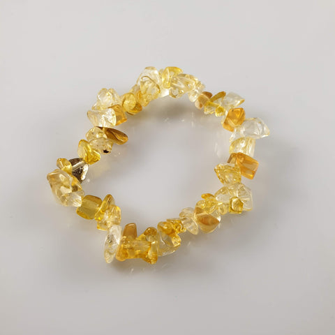 Tiger's Eye Round Crystal Bracelet