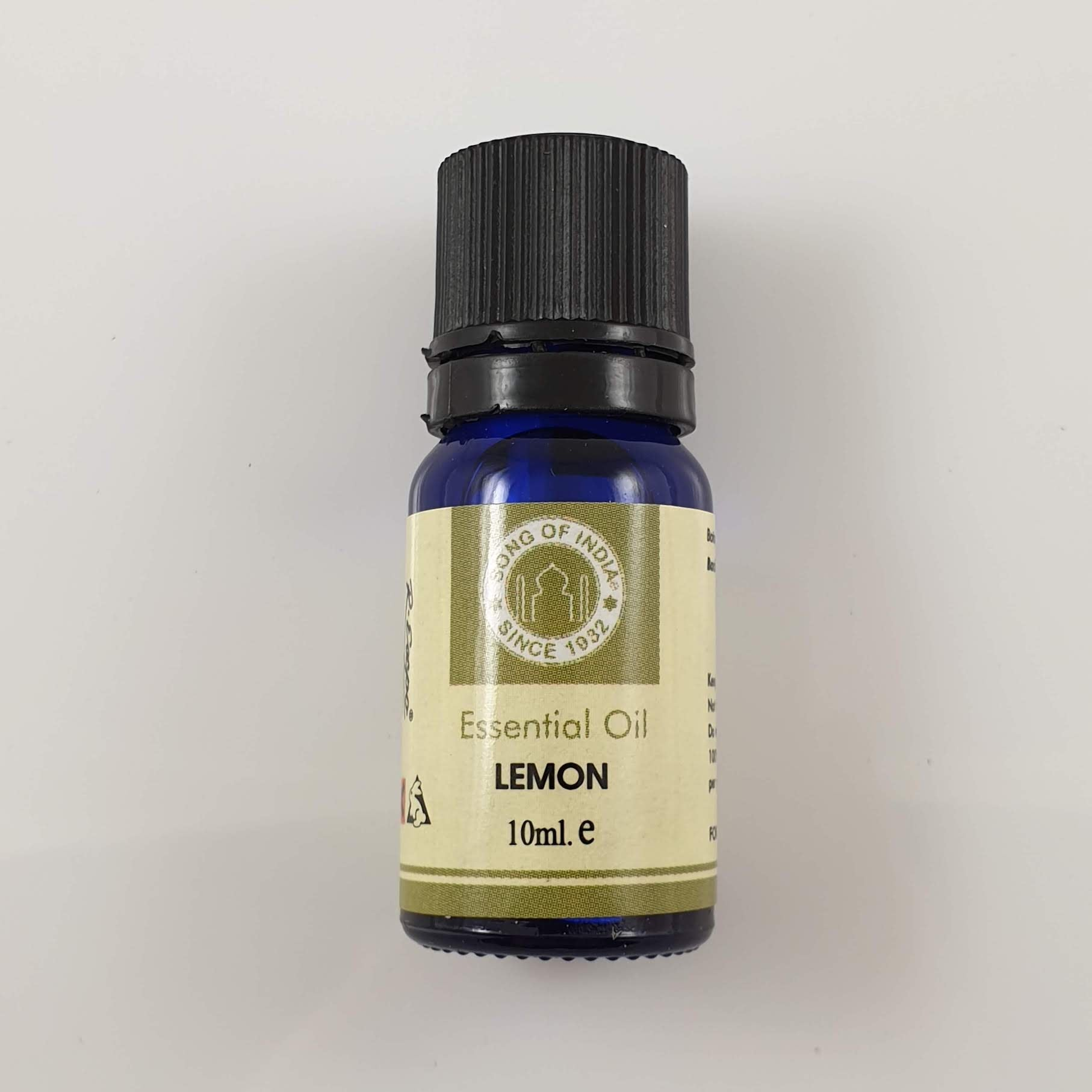 Song of India Essential Oil - Lemon 10ml - Rivendell Shop NZ
