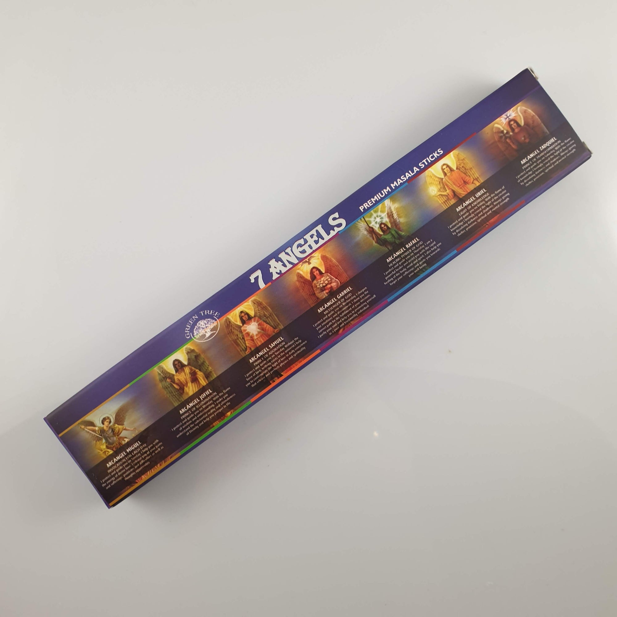 Green Tree 7 Angels Incense 15gm - Rivendell Shop NZ