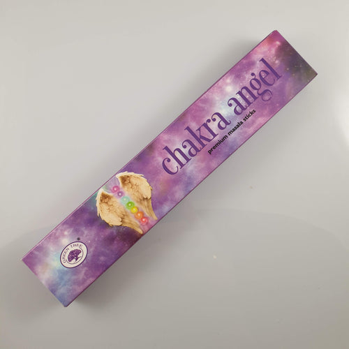 Green Tree Chakra Angel Incense 15gm - Rivendell Shop NZ