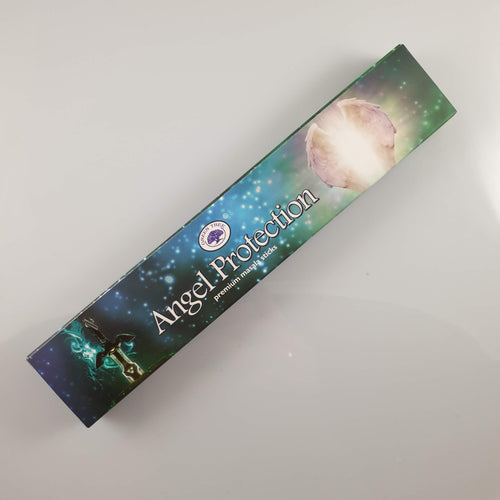 Green Tree Angel Protection Incense 15gm - Rivendell Shop NZ