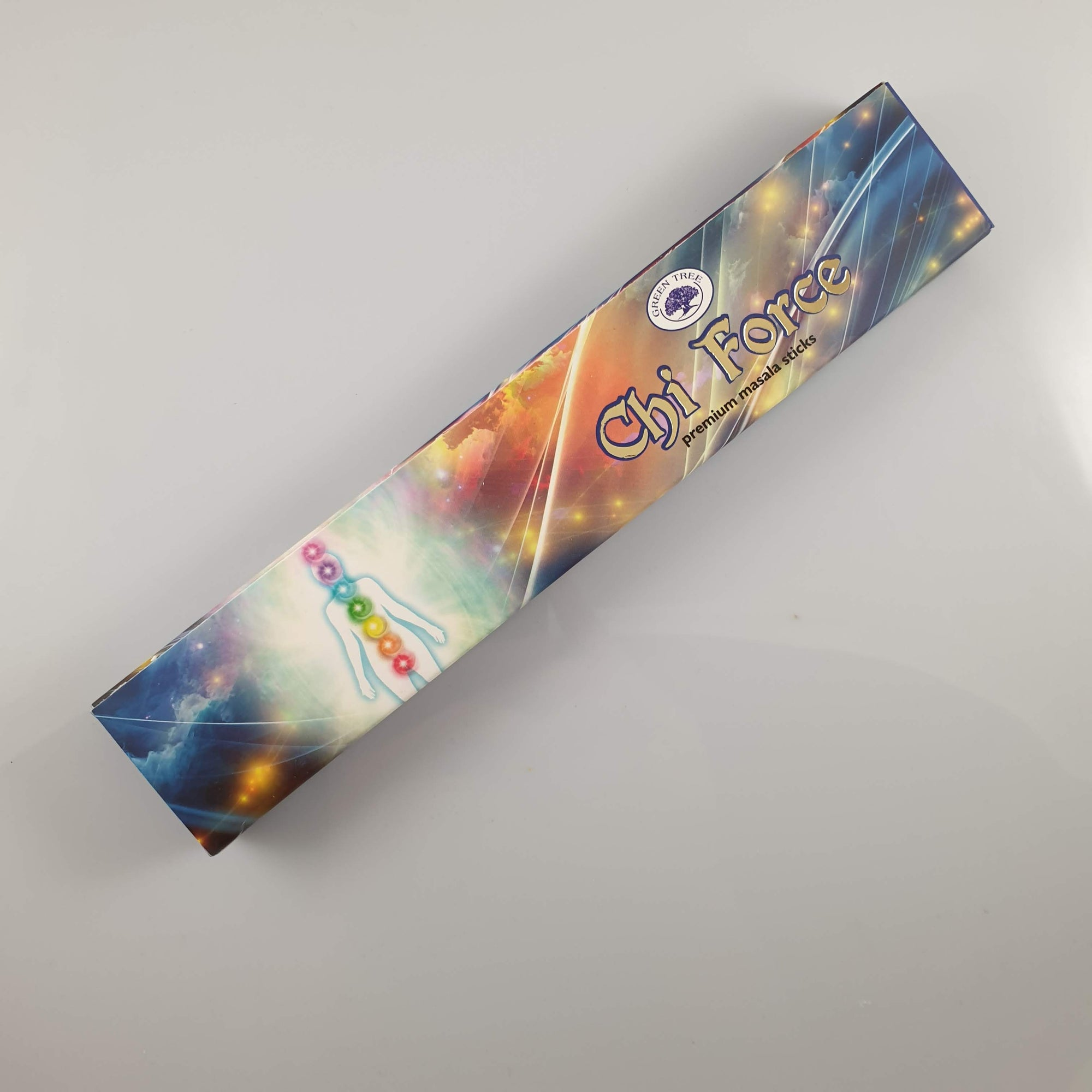 Green Tree Chi Force Incense 15gm - Rivendell Shop NZ