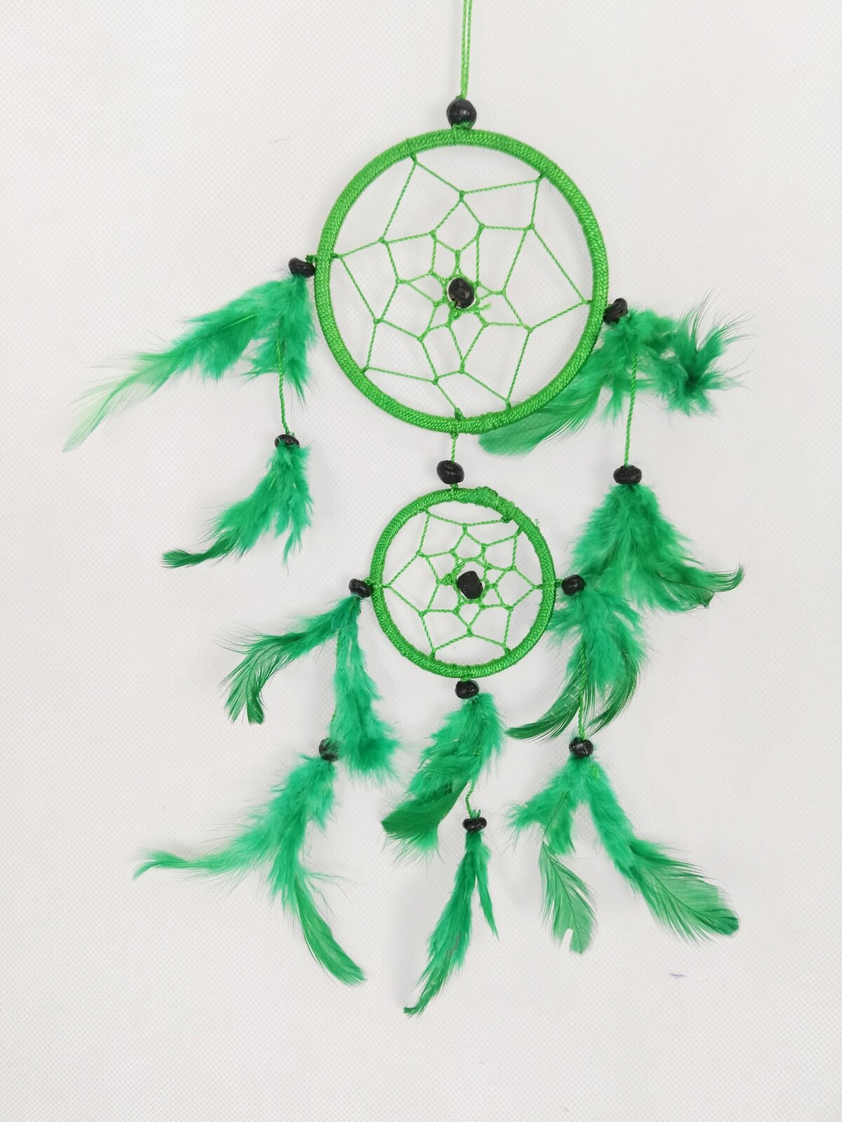 Green Two Tier Dreamcatcher - Rivendell Shop