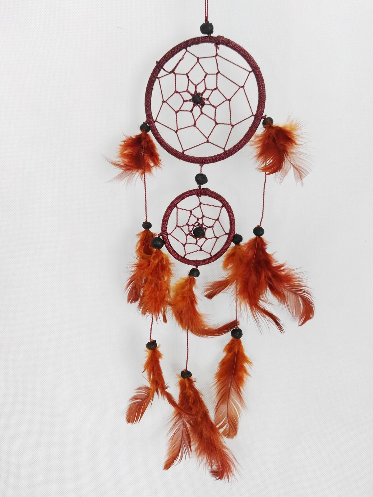 Brown Two Tier Dreamcatcher - Rivendell Shop