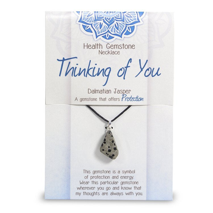 """Thinking of You"" Health Gemstone Necklace - Rivendell Shop"