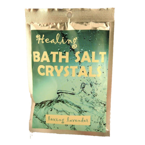Loving Lavender Himalayan Salt Pure Bath Salts 100g - Rivendell Shop NZ