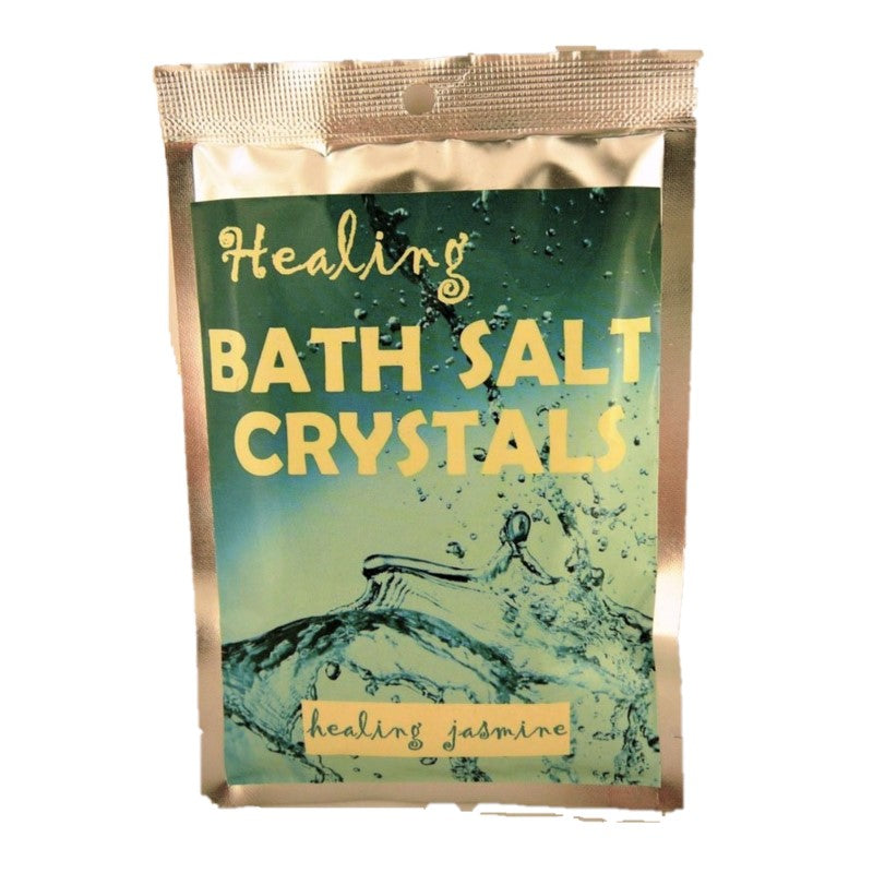Healing Jasmine Himalayan Salt Pure Bath Salts 100g - Rivendell Shop NZ