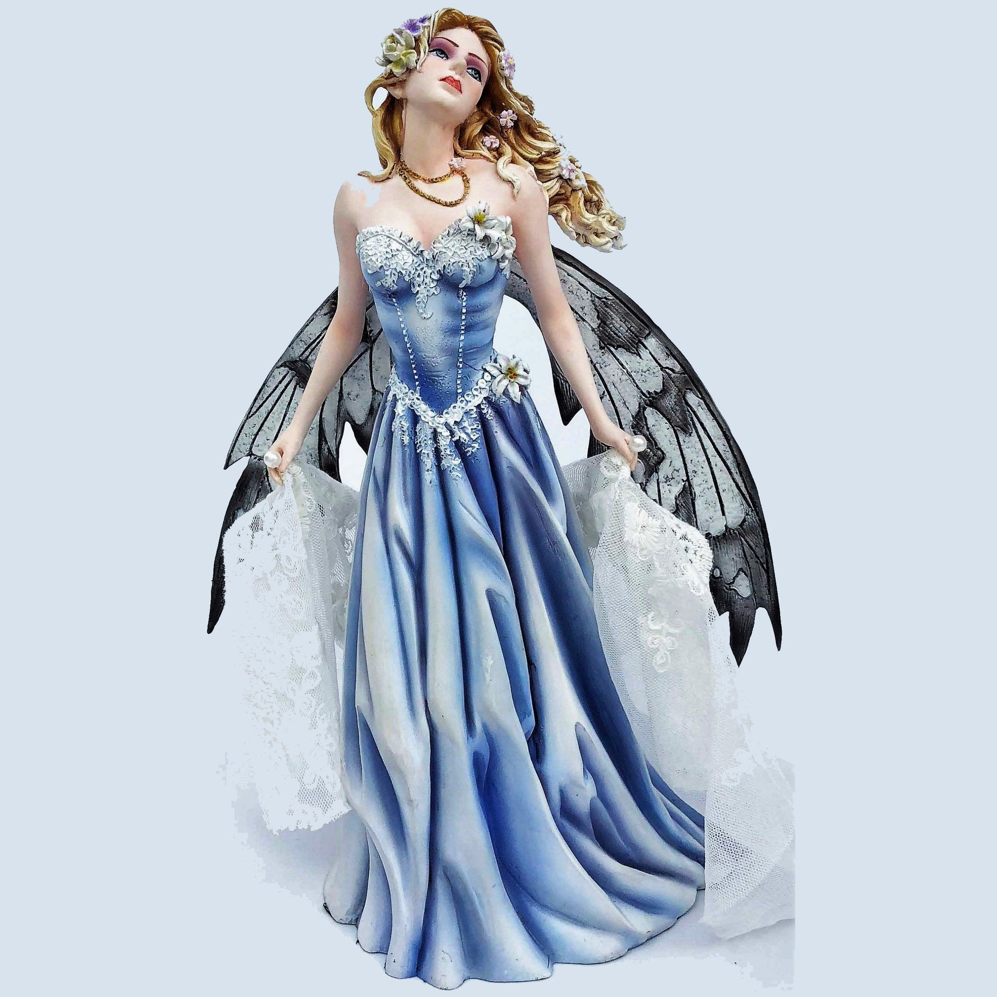 Flower Fairy in Blue Dress - Rivendell Shop