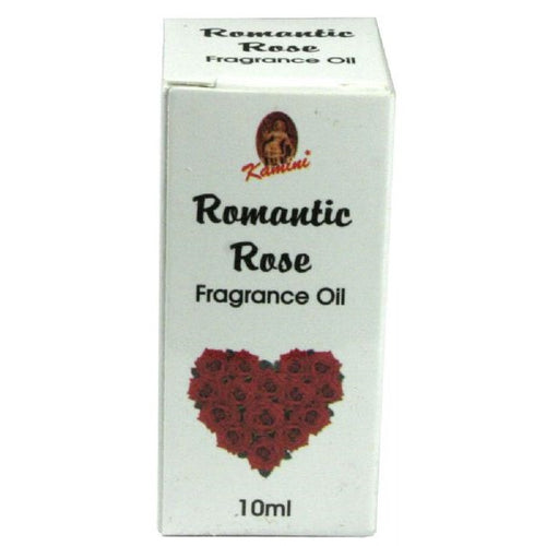 Kamini Fragrance Oil Romantic Rose - Rivendell Shop NZ