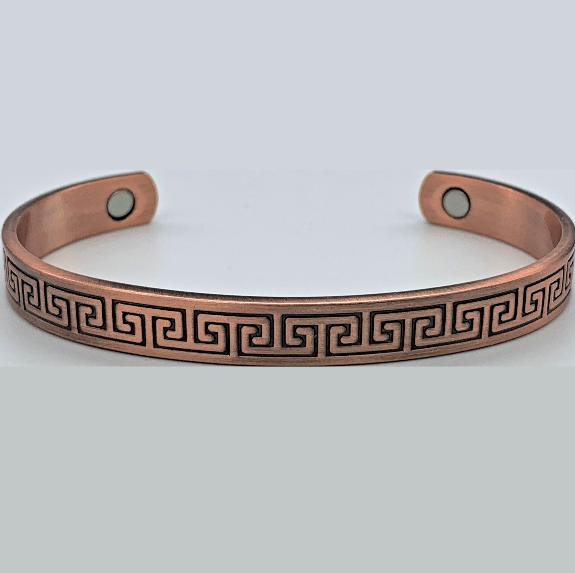 Arabesque Copper Magnetic Bracelet - Rivendell Shop NZ