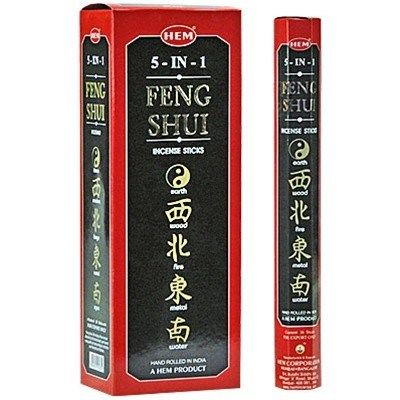HEM Hexagon Feng Shui Incense 6 Pack - Rivendell Shop NZ