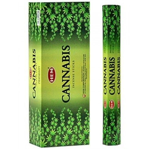 HEM Hexagon Cannabis Incense 6 Pack - Rivendell Shop NZ
