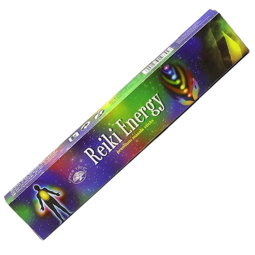 Green Tree Reiki Energy Incense 15gm - Rivendell Shop NZ