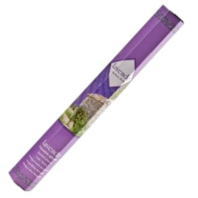 Kamini Lavender Incense 20gm Hex Packet 6 Pack - Rivendell Shop NZ