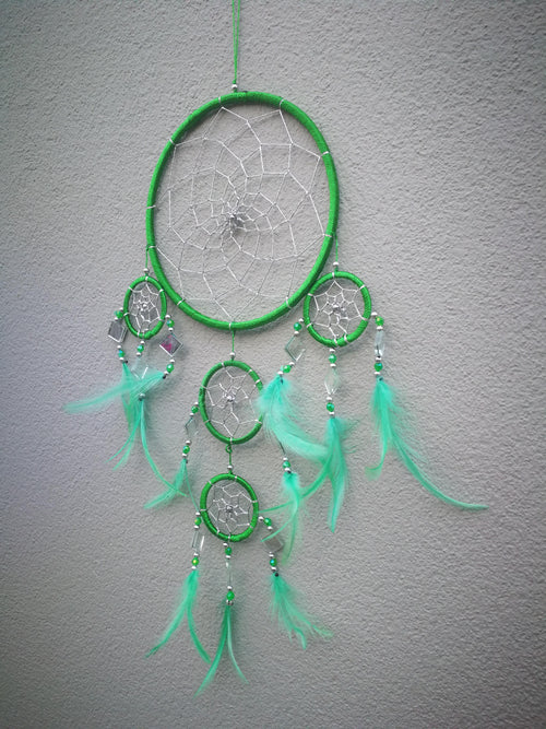 "Medium dreamcatcher ""Green Dakota"""