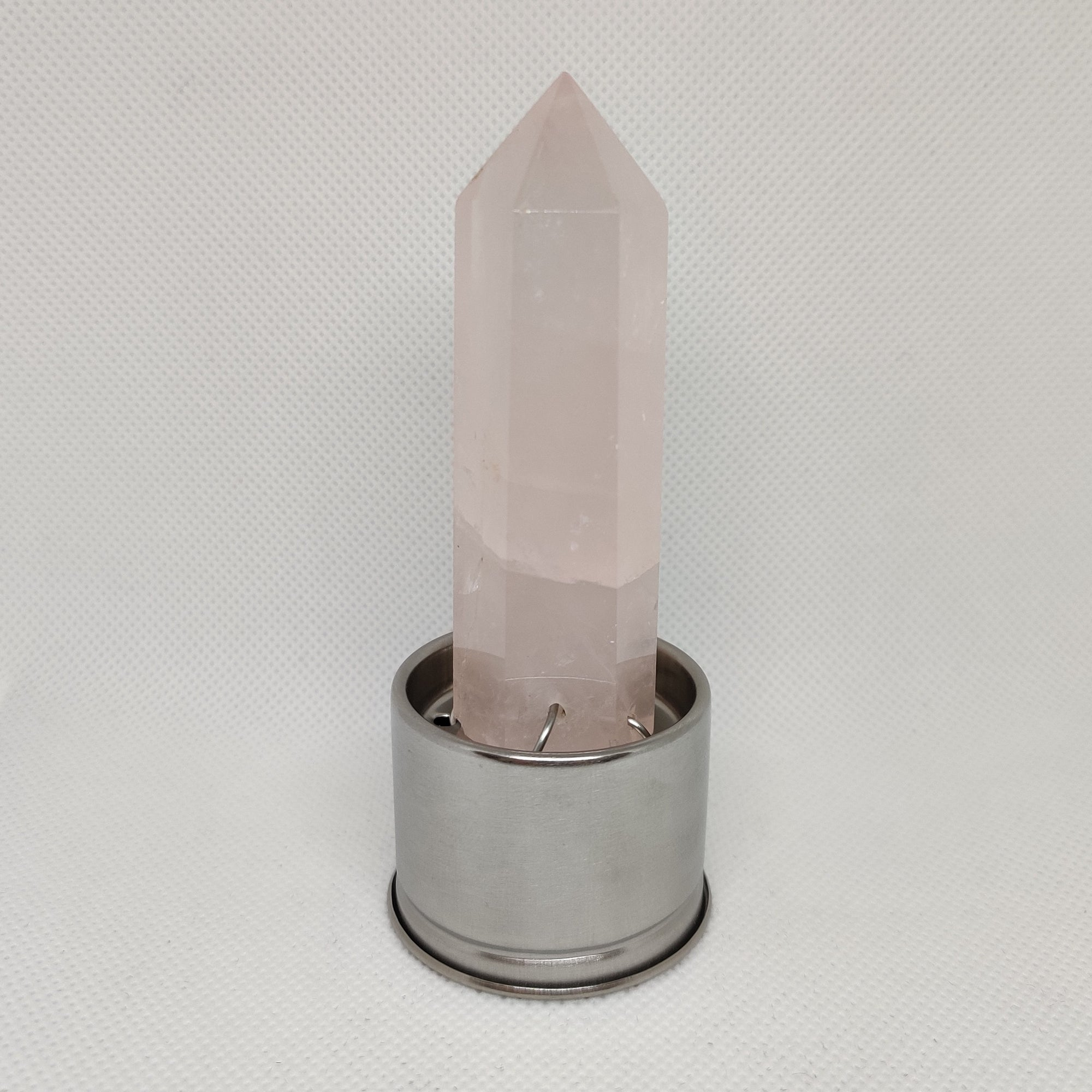 Rose Quartz Point for Crystal Water Bottle - Rivendell Shop