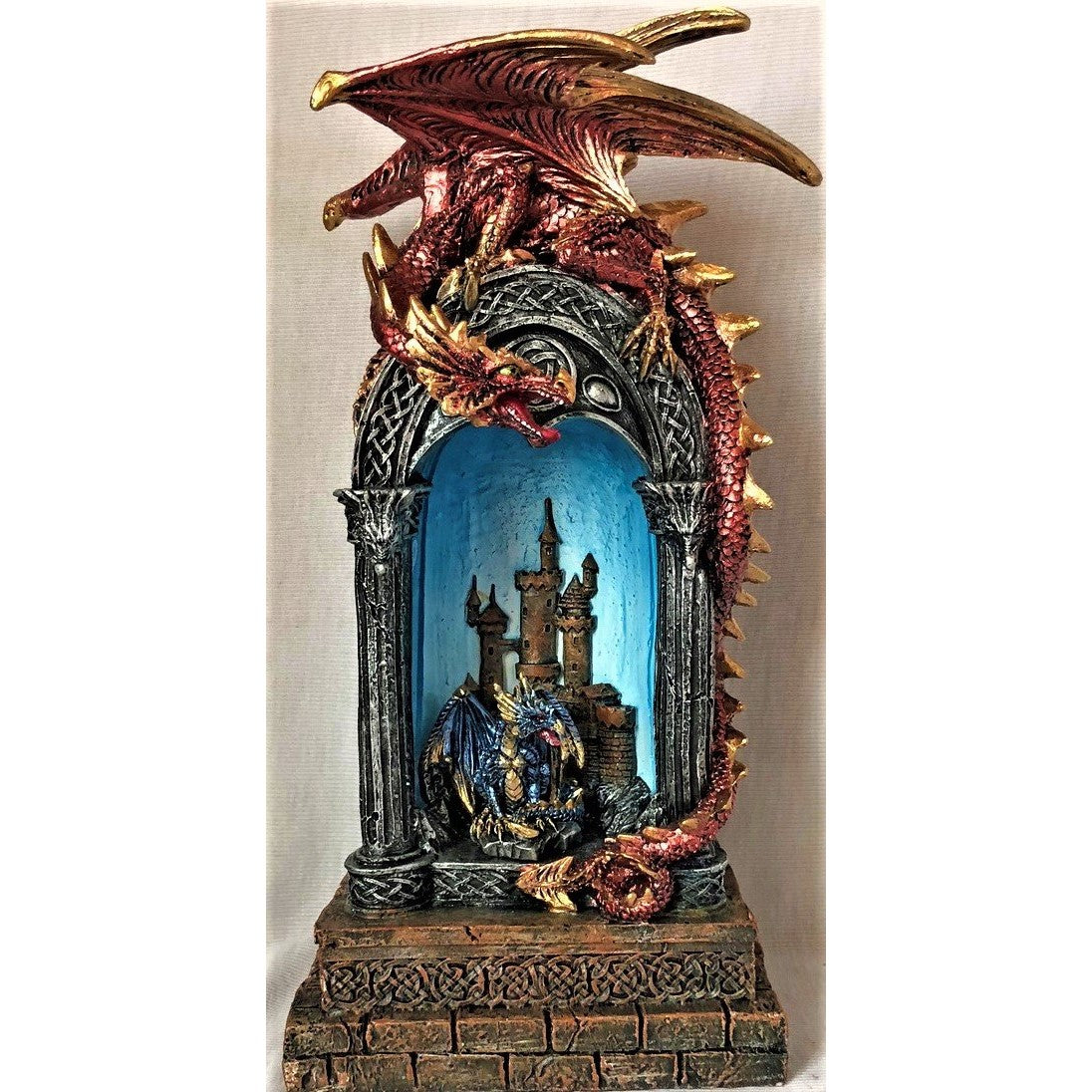 Dragon on Archway - Rivendell Shop