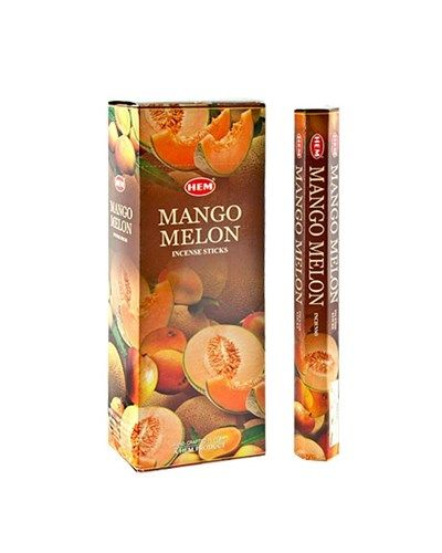 HEM Hexagon Mango Melon Incense 6 Pack - Rivendell Shop NZ