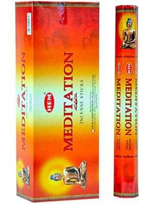 HEM Hexagon Meditation Incense 6 Pack - Rivendell Shop NZ
