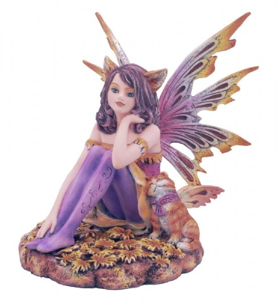 Sitting Cat Fairy - Rivendell Shop