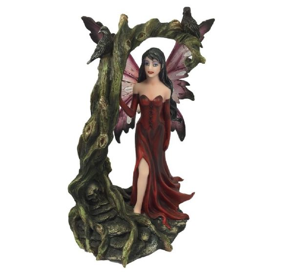 Red Fairy with Withered Tree - Rivendell Shop NZ